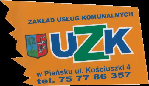 Logo Zakładu Usług Komunalnych w Pieńsku